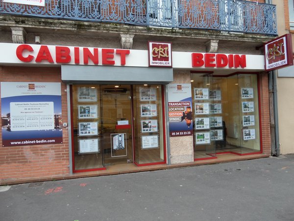 Cabinet Bedin Immobilier TOULOUSE BONNEFOY