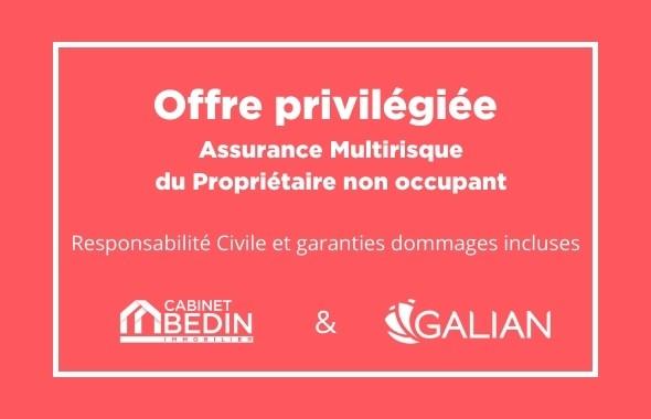 assurance PNO cabinet bedin immobilier galian