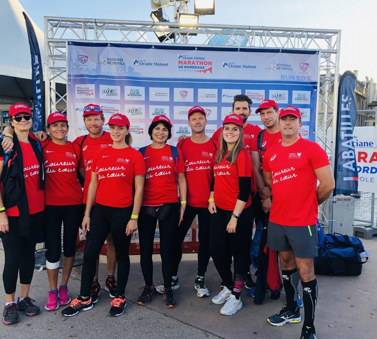 marathon relais bordeaux 2019 coureurs du coeur cabinet bedin