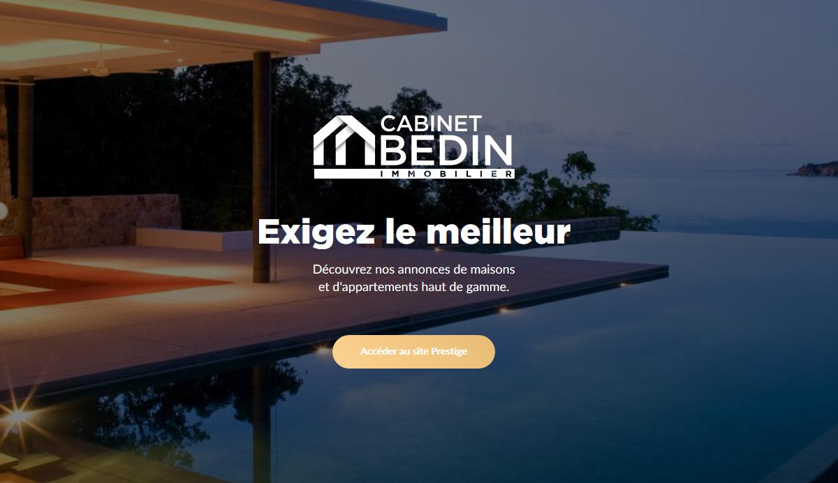 cabinet bedin immobilier prestige